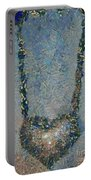 Hearted On Your Wall Again Medalion Painting Portable Battery Charger