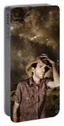 Heartland Of Outback Country Australia Portable Battery Charger