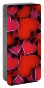 Hearts Collage Portable Battery Charger
