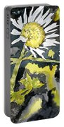 Heath Aster Flower Art Print Portable Battery Charger