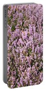 Heather Background Portable Battery Charger