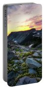 Heather Meadows Sunset Portable Battery Charger