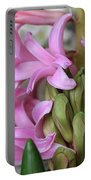 Heavenly Hyacinths Portable Battery Charger