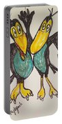 Heckle And Jeckle Portable Battery Charger