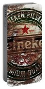 Heineken Beer Wood Sign 1a Portable Battery Charger