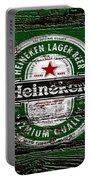 Heineken Beer Wood Sign 2 Portable Battery Charger