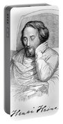 Heinrich Heine, German Writer Portable Battery Charger