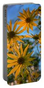Helianthus Giganteus Portable Battery Charger