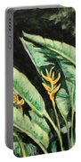 Heliconia Flower 7 Portable Battery Charger