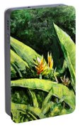 Heliconia Flowers 6 Portable Battery Charger
