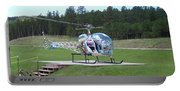 Helicopter Ride South Dakota Portable Battery Charger