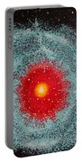 Helix Nebula Portable Battery Charger by Georgeta  Blanaru