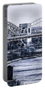 Hells Gate Bridge Triborough Bridge  Portable Battery Charger