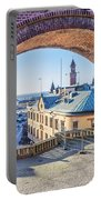 Helsingborg Through The Archway Portable Battery Charger