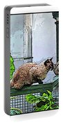 Hemmingway Cats Portable Battery Charger