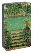 Henri Le Sidaner 1862 - 1939 Market Garden, Gerberoy Portable Battery Charger