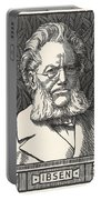 Henrik Ibsen, Norwegian Playwright Portable Battery Charger