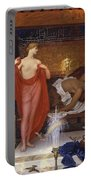 Hera In The House Of Hephaistos Portable Battery Charger