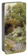 Herbaceous Border  Portable Battery Charger