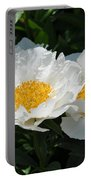 Herbaceous Peony 1 Portable Battery Charger