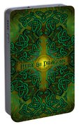 Here Be Dragons Portable Battery Charger