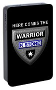 Here Comes The Warrior Portable Battery Charger