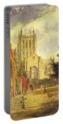 Hereford Cathedral Portable Battery Charger by John William Buxton Knight