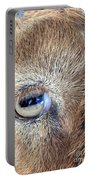 Here's Looking At You Kid - The Truth About Goats' Eyes Portable Battery Charger