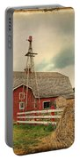 Heritage Village Barn Portable Battery Charger