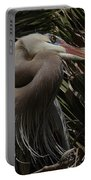 Heron Close-up Portable Battery Charger
