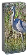 Heron In The Wetlands Portable Battery Charger