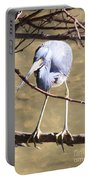 Heron On Branch Portable Battery Charger