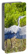 Heron On The Rise Portable Battery Charger