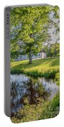 Herrevads Kloster By The Riverside Portable Battery Charger
