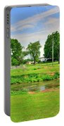 Herr's Grist Mill And Covered Bridge Portable Battery Charger