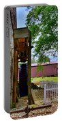 Herr's Mill And Covered Bridge 2 Portable Battery Charger