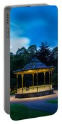 Hexham Bandstand At Night Portable Battery Charger