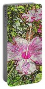 Hibiscus 101516 1a Portable Battery Charger