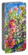 Hibiscus And Friends Portable Battery Charger