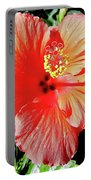 Hibiscus - Dew Covered - Beauty Portable Battery Charger