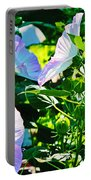 Hibiscus Garden Portable Battery Charger