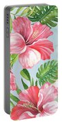Hibiscus Paradise-jp3966 Portable Battery Charger