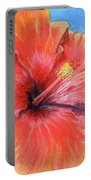 Hibiscus Passion Portable Battery Charger