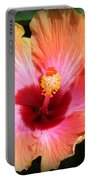 Hibiscus Splendor Portable Battery Charger