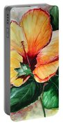 Hibiscus  Sunny Portable Battery Charger