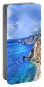Hidden Beach At Big Sur Portable Battery Charger