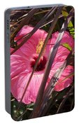Hidden Hibiscus  Portable Battery Charger