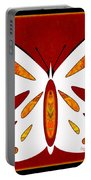 Hidden Possibilities And Abstract Butterflies By Omashte Portable Battery Charger