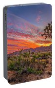 Hidden Valley Sunset Portable Battery Charger