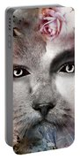 Hiding Catlady Portable Battery Charger